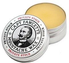 Parfumuri și produse cosmetice Ceară pentru mustăți - Captain Fawcett Private Stock Moustache Wax