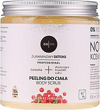 Parfumuri și produse cosmetice Peeling pentru corp - GoSpa Professional Body Scrub