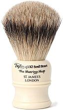 Parfumuri și produse cosmetice Pămătuf de ras, SH1 - Taylor of Old Bond Street Shaving Brush Super Badger size S