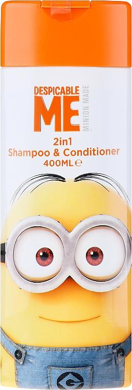 Șampon-Balsam de păr pentru copii - Corsair Despicable Me Minions 2in1 Shampoo&Conditioner
