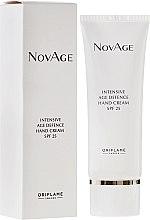 Parfumuri și produse cosmetice Cremă anti-îmbătrânire pentru mâini - Oriflame NovAge Intensive Age Defence Hand Cream SPF25
