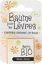 """Parfumuri și produse cosmetice Balsam de buze """"Peach"""" - Marilou Bio Certified Organic Lip Balm Peach"""