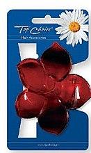 Parfumuri și produse cosmetice Agrafă de păr 24405, roșie - Top Choice