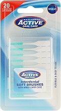 Parfumuri și produse cosmetice Set perii interdentare - Beauty Formulas Active Oral Care Interdental Soft Brushes