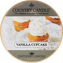 Parfumuri și produse cosmetice Lumânare de ceai - Country Candle Vanilla Cupcake Daylight