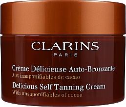 Parfumuri și produse cosmetice Autobronzant pentru față și corp - Clarins Delicious Self Tanning Cream