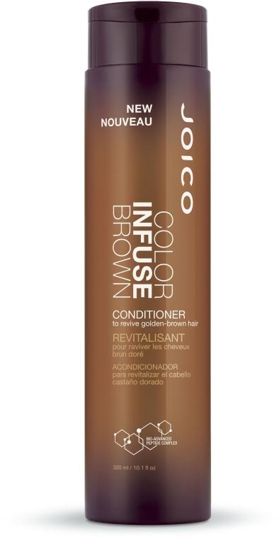 Balsam nuanțator pentru păr cafeniu - Joico Color Infuse Brown Conditioner — Imagine N1