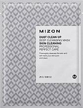 Parfumuri și produse cosmetice Mască din țesătură pentru curățarea tenului - Mizon Dust Clean Up Deep Cleansing Mask