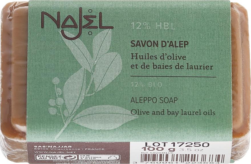 Săpun de Alep 12% ulei de dafin - Najel Savon d'Alep Aleppo Soap By Laurel Oils 12% — Imagine N1