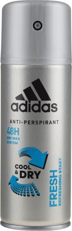 Deodorant - Adidas Anti-Perspirant Fresh Cool & Dry 48H — Imagine N1