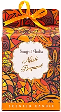 """Parfumuri și produse cosmetice Lumânare aaromatică """"Neroli și Bergamotă"""" - Song of India Scented Candlee"""