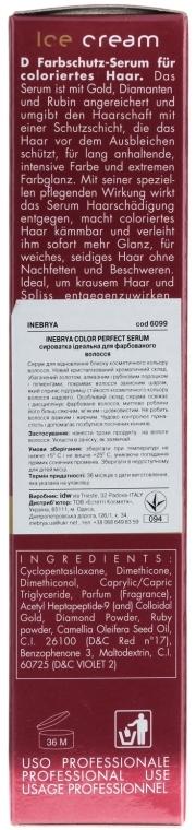 Ser pentru păr vopsit - Inebrya Pro-Color Color Perfect Serum — Imagine N3