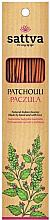 """Parfumuri și produse cosmetice Bețișoare aromatice """"Patchouli"""" - Sattva Patchouli"""