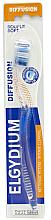 """Parfumuri și produse cosmetice Periuță de dinți """"Diffusion"""" moale, albastră - Elgydium Diffusion Soft Toothbrush"""