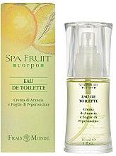 Parfumuri și produse cosmetice Frais Monde Spa Fruit Orange And Chilli Leaves - Apă de toaletă
