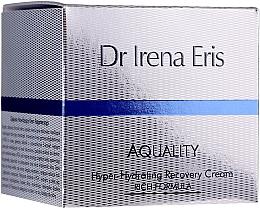 Parfumuri și produse cosmetice Cremă intens hidratantă de față - Dr Irena Eris Aquality Hyper-Hydrating Recovery Cream Rich Formula