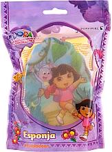 """Parfumuri și produse cosmetice Burete de baie pentru copii """"Dora"""", 169-15, galbenă - Suavipiel Dora Bath Sponge"""