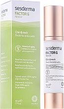 Parfumuri și produse cosmetice Cremă anti-îmbătrânire pentru ovalul feței și gât - SesDerma Laboratories FactorG Renew Oval face & Neck