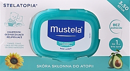 Parfumuri și produse cosmetice Set - Mustela Bebe Cleansing Wipes For Atopic Skin (3x50)