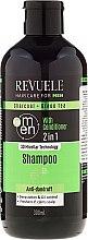 Parfumuri și produse cosmetice Șampon-balsam pentru bărbați - Revuele Men Charcoal + Green Tea 2in1 Shampoo