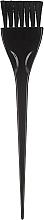 Parfumuri și produse cosmetice Pensulă pentru vopsit părul 65101, neagră - Top Choice