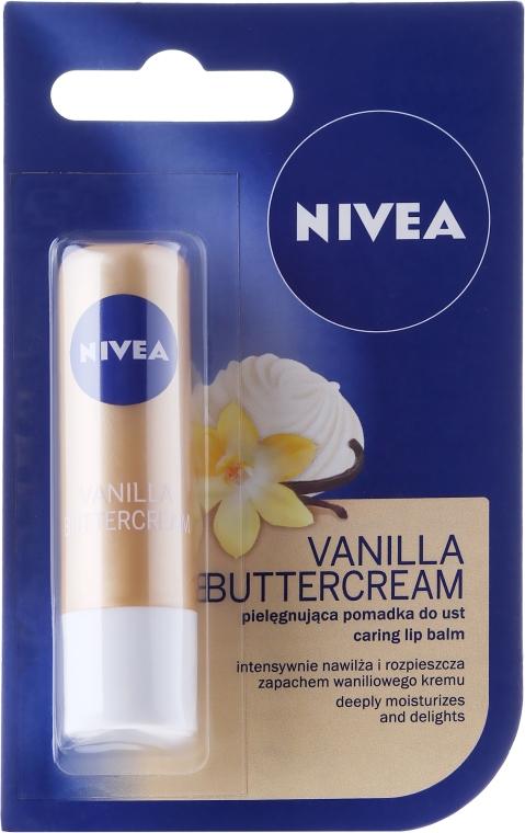 "Balsam de buze ""Desert vanilat"" - Nivea Vanilla Buttercream"