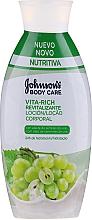 """Parfumuri și produse cosmetice Loțiune cu ulei de semințe de struguri pentru corp """"Revitalizare"""" - Johnson's® Body Care Vita-Rich Lotion"""