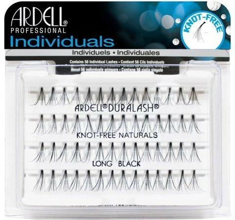 Extensii gene - Ardell Individuals Duralash Knot-Free Naturals Long Black — Imagine N1