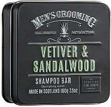 "Parfumuri și produse cosmetice Șampon ""Vetiver și lemn de santal"" - Scottish Fine Soaps Mens Grooming Vetiver & Sandalwood Shampoo Bar"