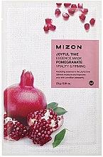 Parfumuri și produse cosmetice Mască de țesut cu extract de rodie - Mizon Joyful Time Essence Mask Pomegranate