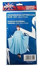 Parfumuri și produse cosmetice Pelerină pentru coafor, albastră - Ronney Professional Cutting Cape