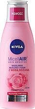 Parfumuri și produse cosmetice Tonic-Lăptișor micelar + apă de trandafir - Nivea MicellAir Skin Breathe