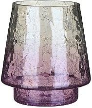 Parfumuri și produse cosmetice Sfeșnic pentru lumânare votivă - Yankee Candle Savoy Purple Crackle Jar Holder