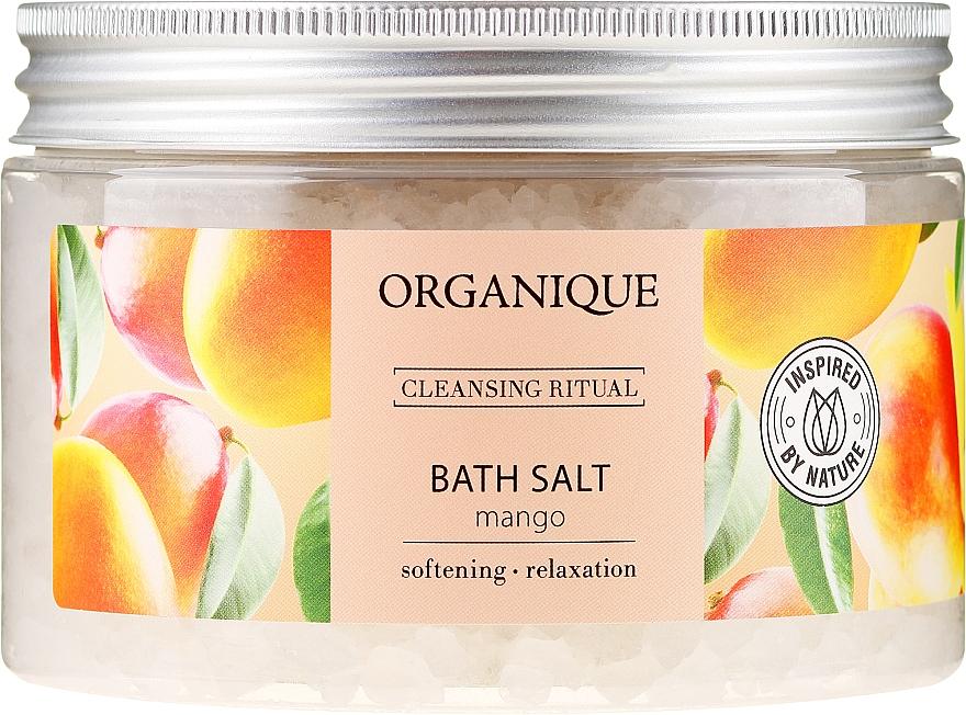 """Sare de baie relaxantă """"Mango"""" - Organique — Imagine N1"""