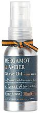 Parfumuri și produse cosmetice Bath House Bergamot & Amber - Ulei de ras