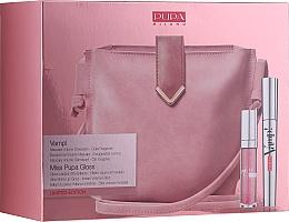 Parfumuri și produse cosmetice Set - Pupa Limited Edition (mascara/9ml + lip/gloss/5ml + bag)