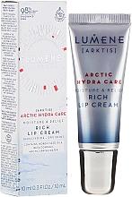 Parfumuri și produse cosmetice Cremă de buze - Lumene Arctic Hydra Care [Arktis] Rich Lip Cream