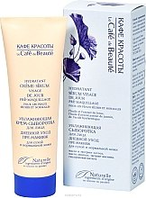 Parfumuri și produse cosmetice Cremă Ser hidratant pentru îngrijirea zilnică a feţei pentru piele uscată și normală - Le Cafe de Beaute Cream Serum Visage