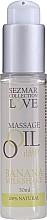 "Parfumuri și produse cosmetice Ulei pentru masaj ""Banana-milkshake"" - Sezmar Collection Love Banana Milkshake Tasty Love Massage Oil (mini)"