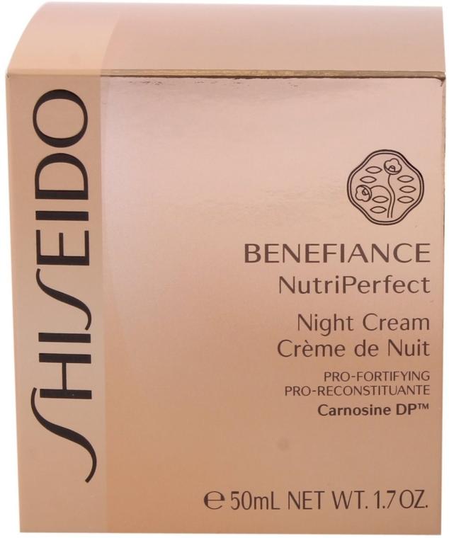 Cremă de noapte pentru față - Shiseido Benefiance NutriPerfect Night Cream  — Imagine N3