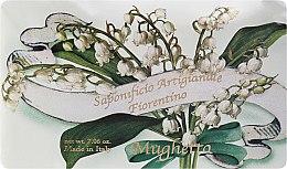 """Parfumuri și produse cosmetice Săpun de toaletă """"Lăcrămioară"""" - Saponificio Artigianale Fiorentino Lily Of The Valley"""