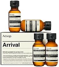 Parfumuri și produse cosmetice Set - Aesop Arrival Travel Kit (shm/50ml + cond/50ml + sh/gel/50ml + balm/50ml)