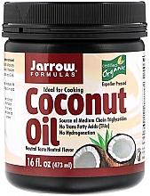 Parfumuri și produse cosmetice Ulei organic de nucă de cocos - Jarrow Formulas Coconut Oil