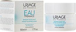 Parfumuri și produse cosmetice Mască de față, de noapte - Uriage Eau Thermale Water Sleeping Mask