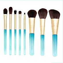 Parfumuri și produse cosmetice Set pensule pentru machiaj, 8 buc - Nabla Aquamarine Essential Brush Set
