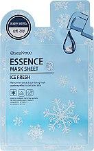 Parfumuri și produse cosmetice Mască din țesut pentru față - SeaNtree Ice Fresh Essence Mask Sheet
