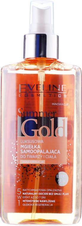 Spray pentru bronzare 5 în 1 - Eveline Cosmetics Summer Gold Spray
