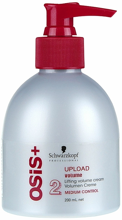 Cremă pentru volumul părului - Schwarzkopf Professional Osis+ Upload Volume Cream  — Imagine N3