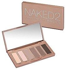 Parfumuri și produse cosmetice Paletă de machiaj, 6 nuanțe - Urban Decay Naked2 Basics Eyeshadow Palette