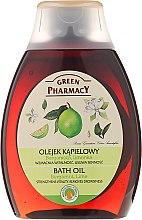 "Parfumuri și produse cosmetice Ulei pentru baie și duș ""Bergamot și lime"" - Green Pharmacy"